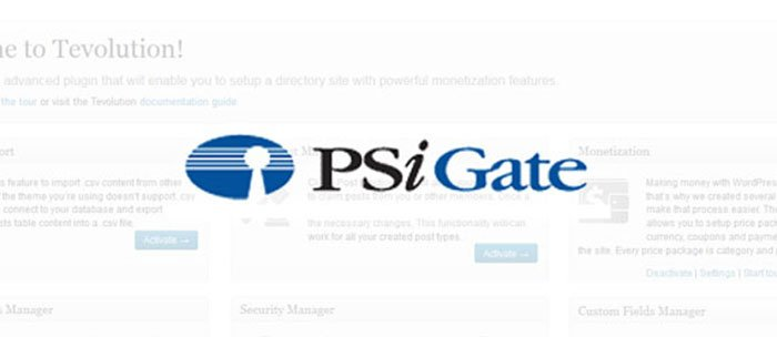 PSiGate Payment Gateway Plugin