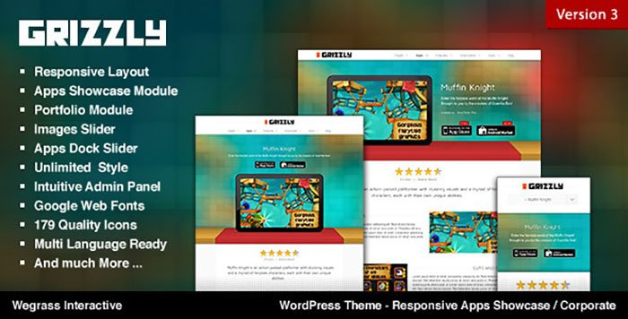 Gizzly WordPress Theme