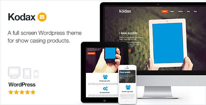 Kodax WordPress Theme