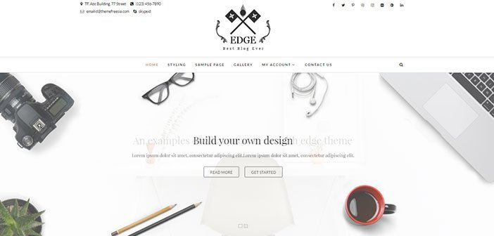 Edge - Best Responsive Blog WordPress Theme