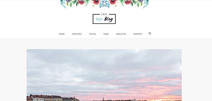 Palmas - Beautiful Blogging WordPress Theme