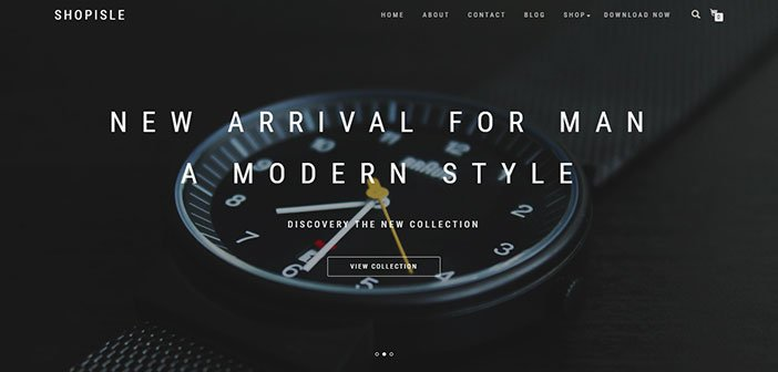 ShopIsle Best Ecommerce WordPress Theme