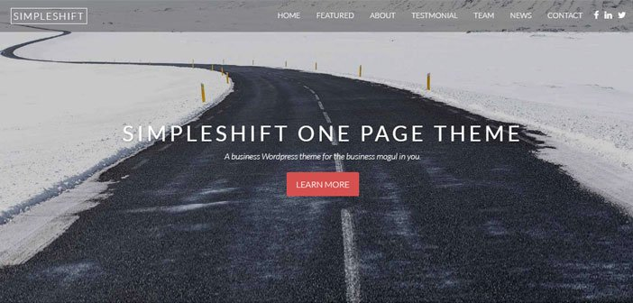 SimpleShift - Flexible Multi-purpose WordPress Theme