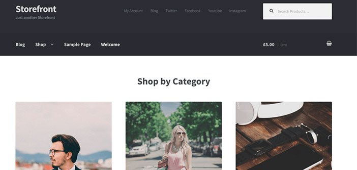 Storefront - Best WooCommerce WordPress Theme
