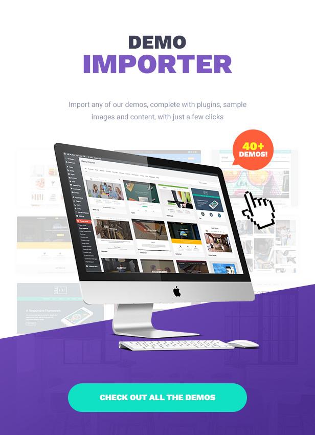 Total WordPress Theme Easy Demo Import