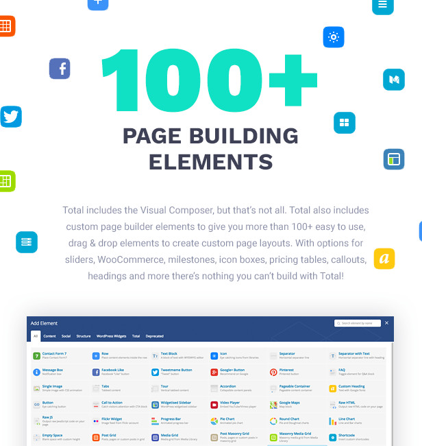 Total WordPress Theme Page Builder