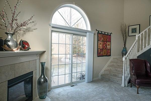 how to winterize a sliding patio door