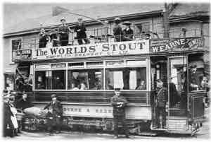 Electric transport - tram Redruth to Camborne