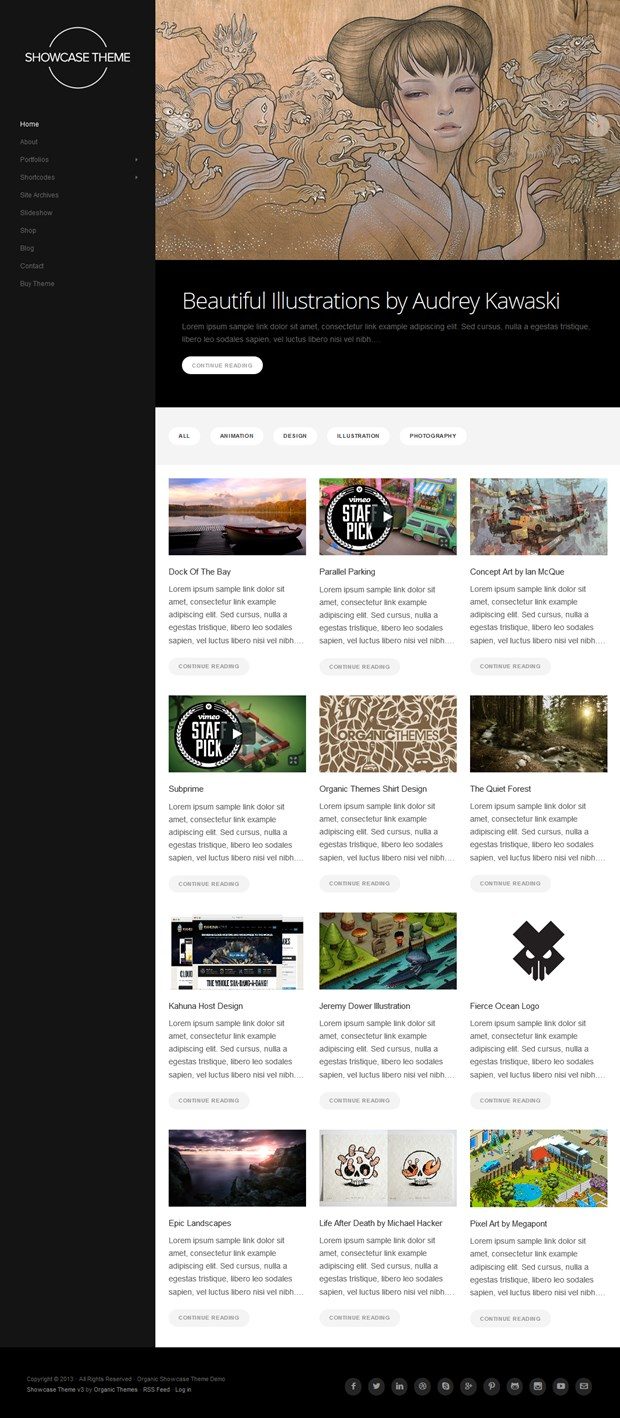 Showcase-Responsive-WordPress-Theme