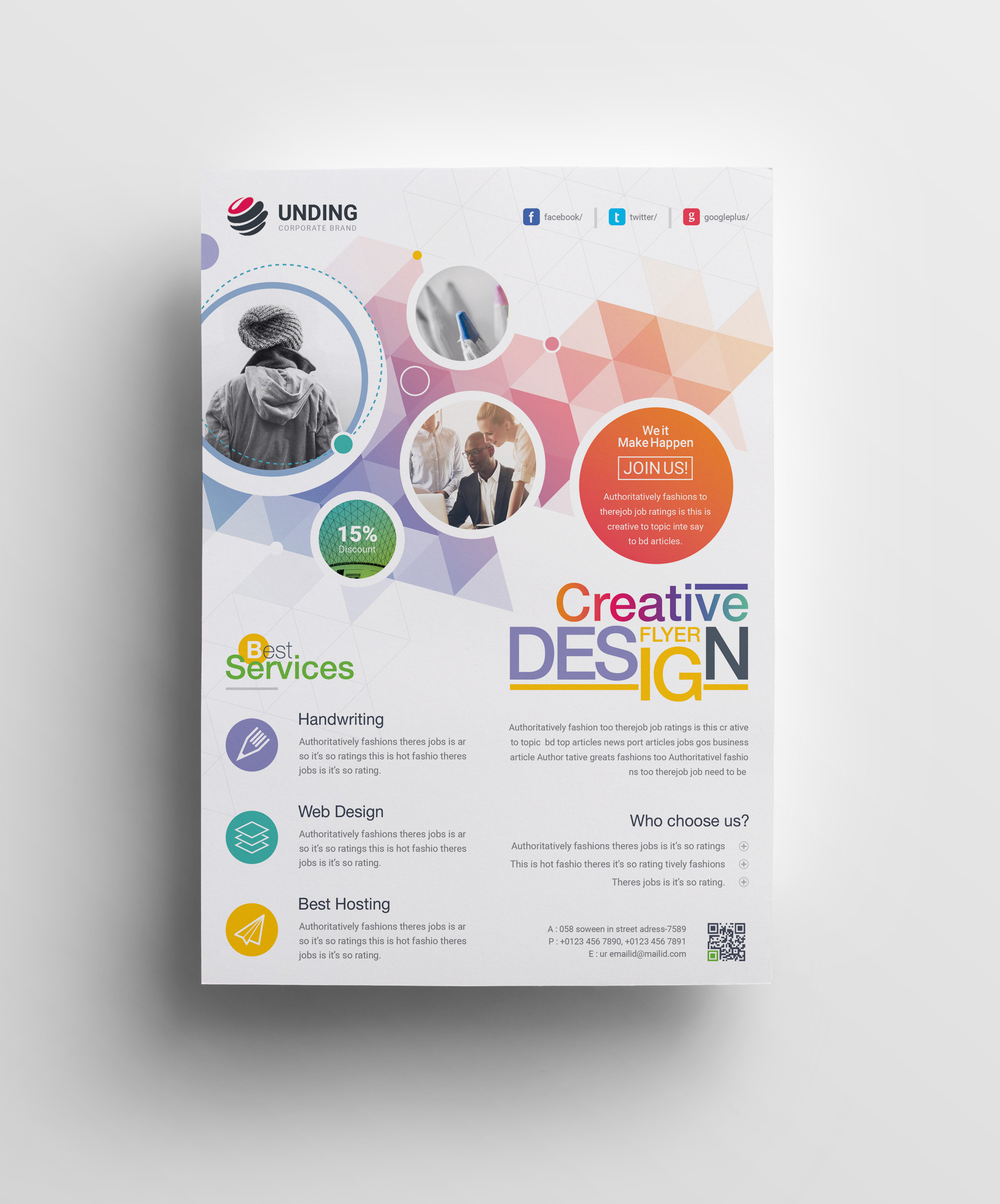 40 Best Free Flyer Templates In Adobe Indesign