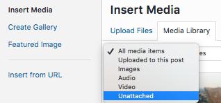 Remove Unused Media on WordPress