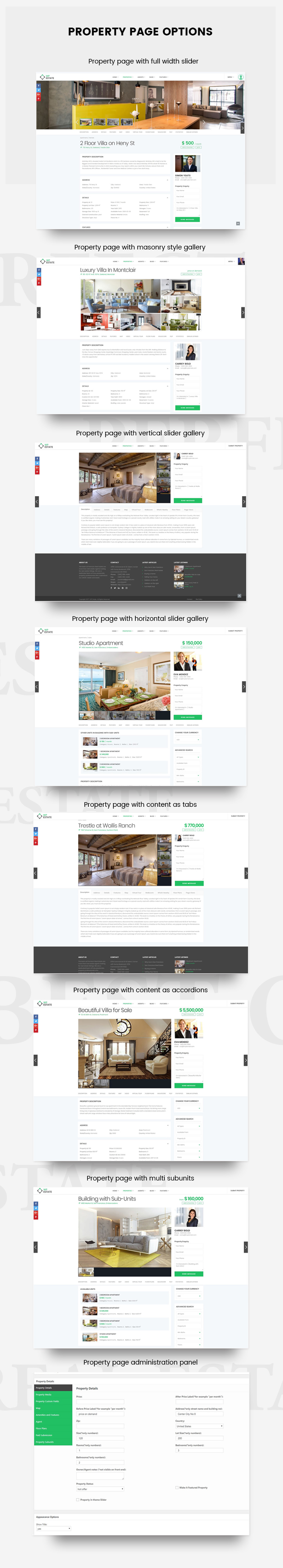 Real Estate - WP Estate Theme 4