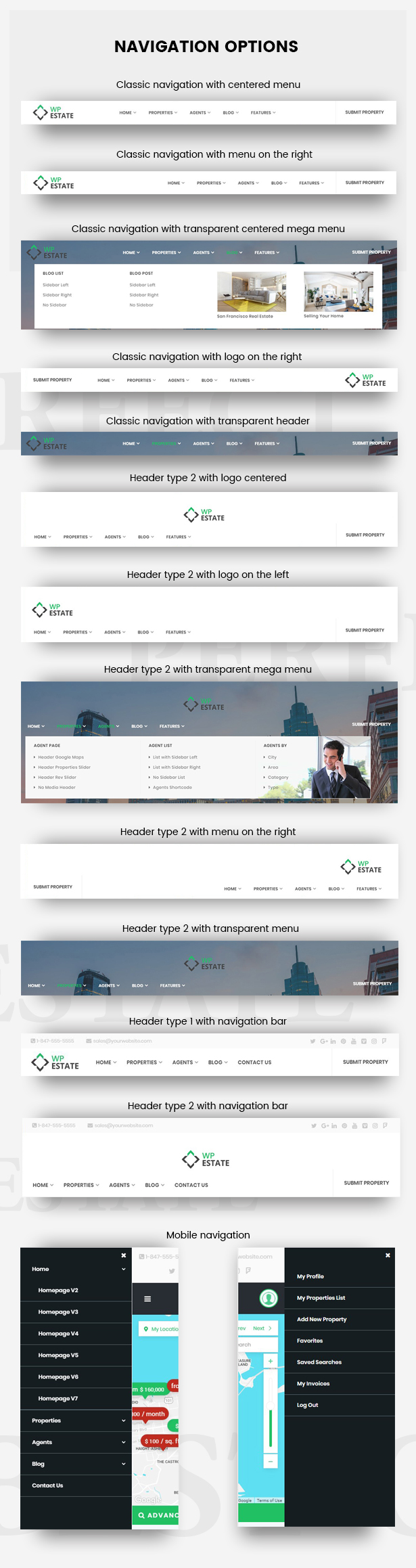 Real Estate - WP Estate Theme 6