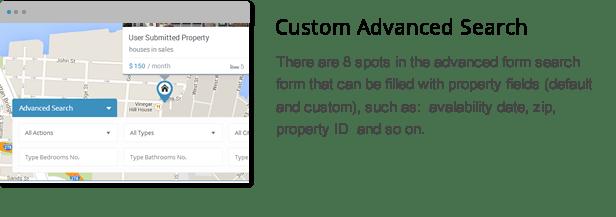 wpresidence custom advanced search fields