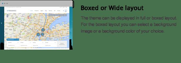 wpresidence boxed or full layout