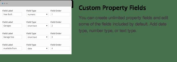 wpresidence custom property fields