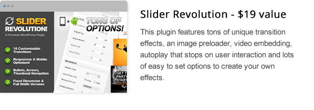 wpresidence rev slider add-on