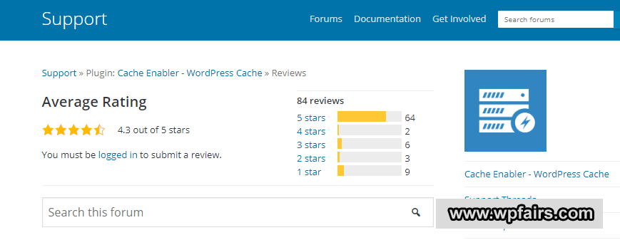 Cache Enabler Reviews – WpFairs