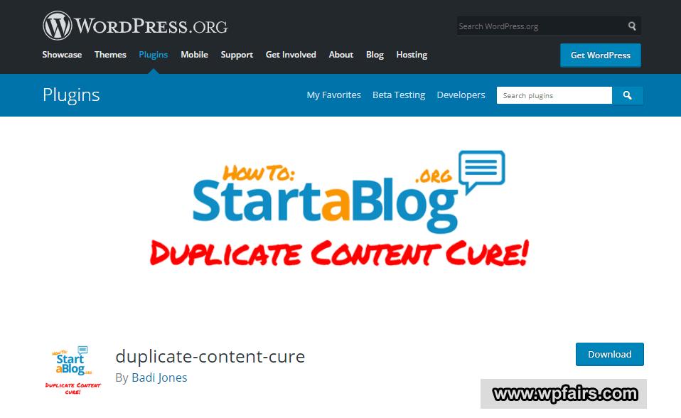 Duplicate Content Cure - WpFairs