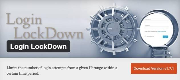 Plugin Login Lockdown