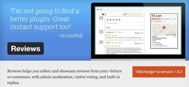 Reviews - plugin WordPress