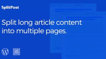 Epic Split Post v1.0.6 – Post Content Splitter as Slider Nulled