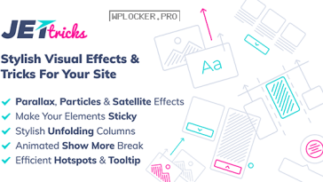 JetTricks v1.3.4 – Visual Effects Addon for Elementor Nulled
