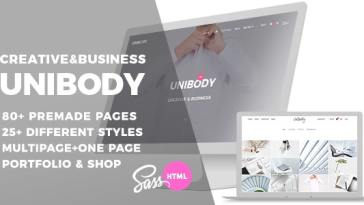 Unibody v1.1.0 – Multipurpose One/Multi Page HTML5 Template