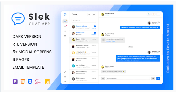Stripo — free email template builder. Download Slek Chat And Discussion Platform Html5 Template Nulled