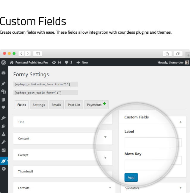 Frontend Publishing Pro - WordPress Post Submission Plugin - 10