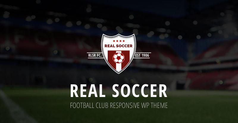 real soccer wordpress sports theme
