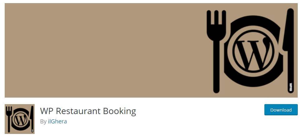 WP Restaurant Booking