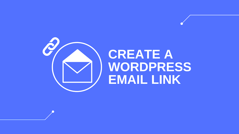 how to create wordpress email link