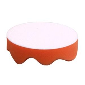 4吋橘波浪海綿