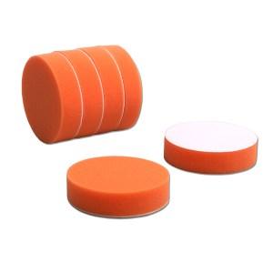 4吋橘平面海綿_6件
