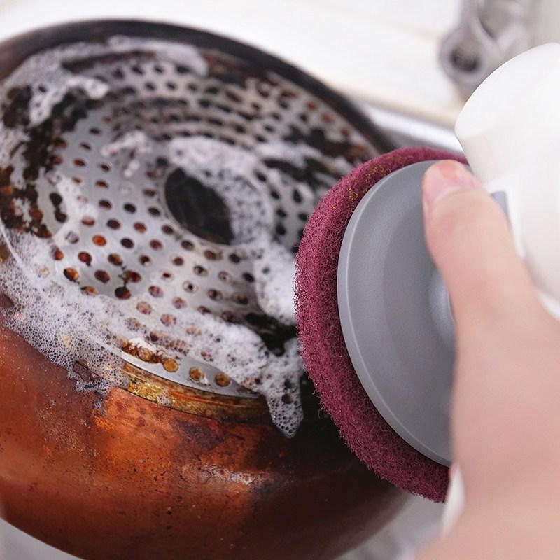 5吋菜瓜布_刷燒焦鍋底