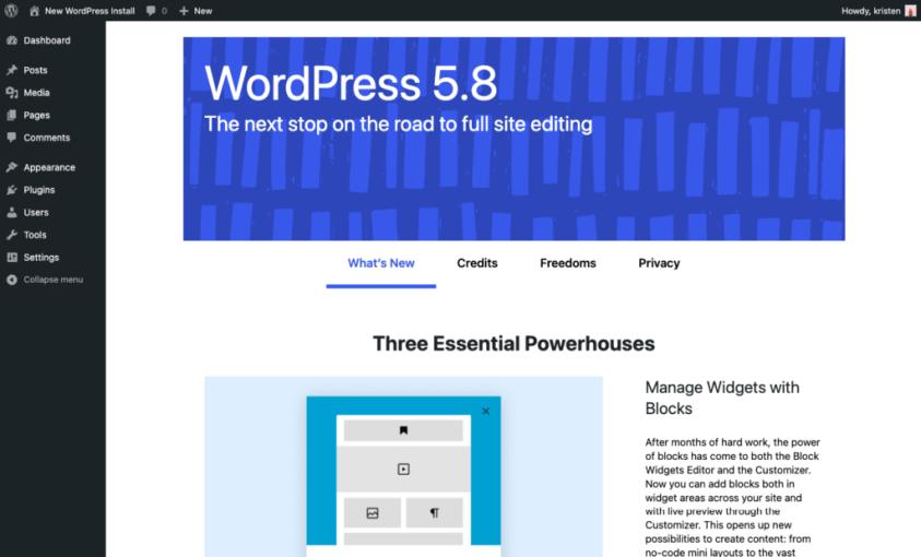WordPress 5.8: Top 20 Features & Improvements - WP Guy News