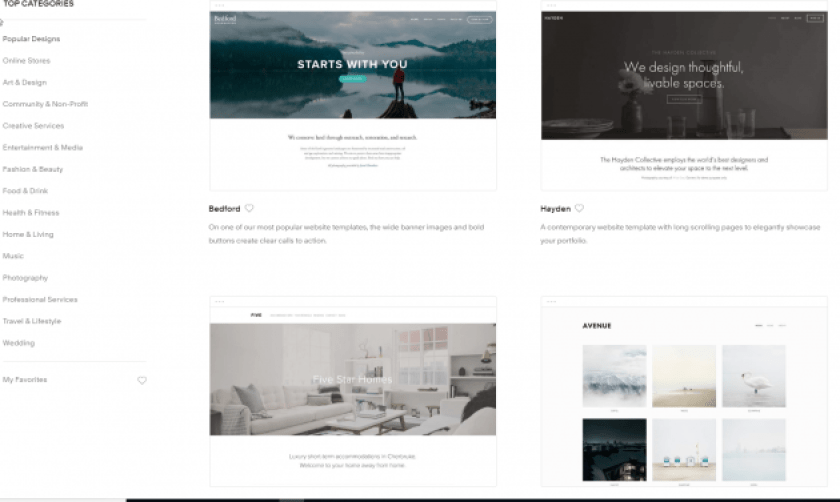 WordPress vs Squarespace Themes