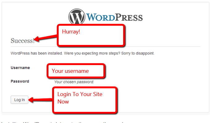 wordpress wamp server install