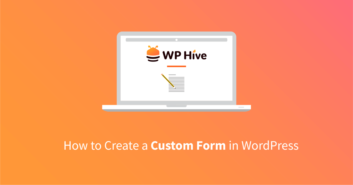 Create Forms on WordPress
