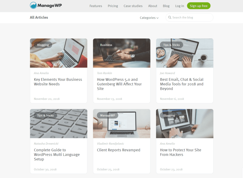 managewp- best WordPressblogs