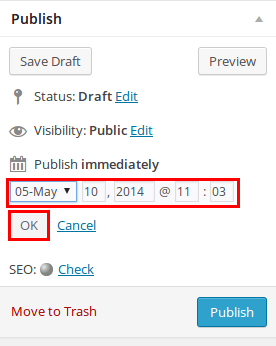 How to Schedule WordPress Posts - Step by Step [2020] 1