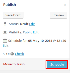 How to Schedule WordPress Posts - Step by Step [2020] 2
