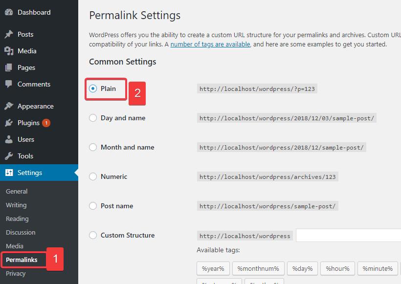 permalink- fix 404 error