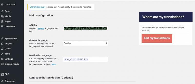 multilingual wordpress plugin weglot