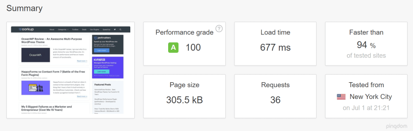 Website without Cache