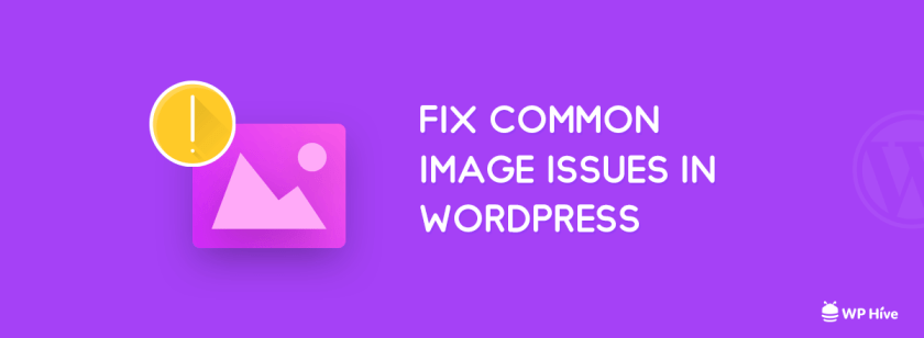 Fix Common Image Issues in WordPress