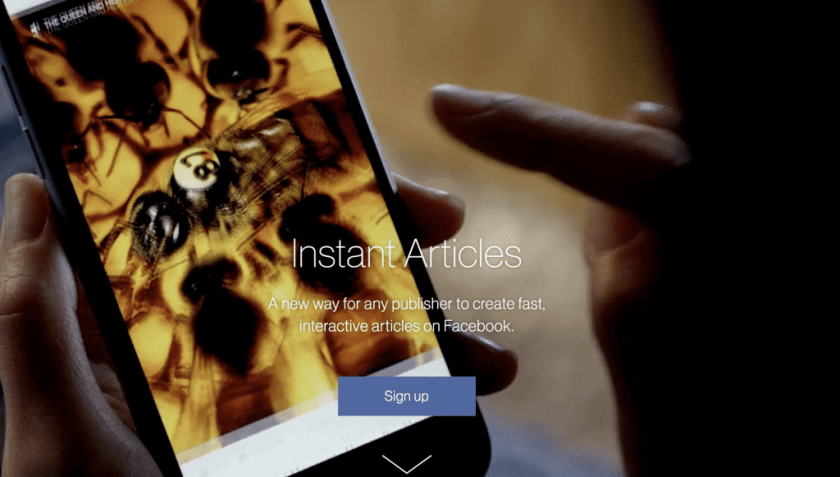 Facebook Instant Articles Website