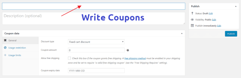 Beginners's Guide to Create Coupon Codes with WooCommerce 3