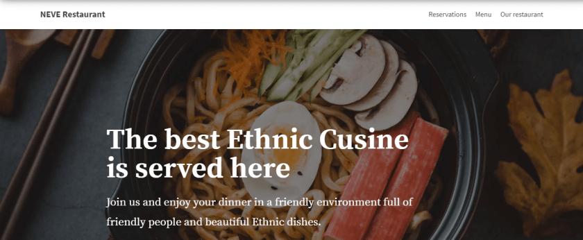 NEVE Restaurant